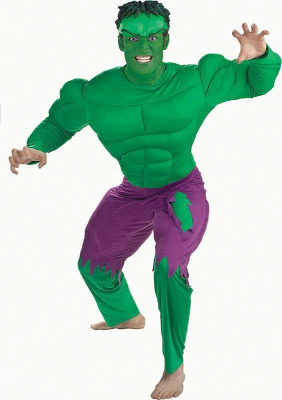 Hulk Deluxe (Fancy Dress Costume)
