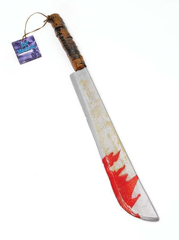 Machete Jumbo / Blood Splatters Accessories