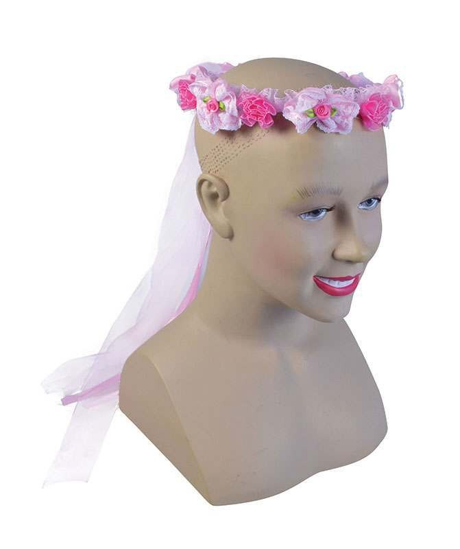Flower Headband. Pink Accessories