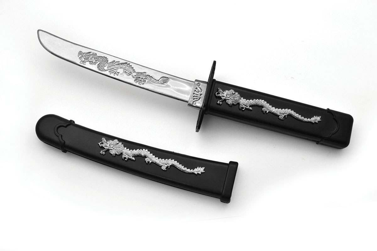 Ninja Dragon Dagger (Ninja Fancy Dress Swords/Knives)