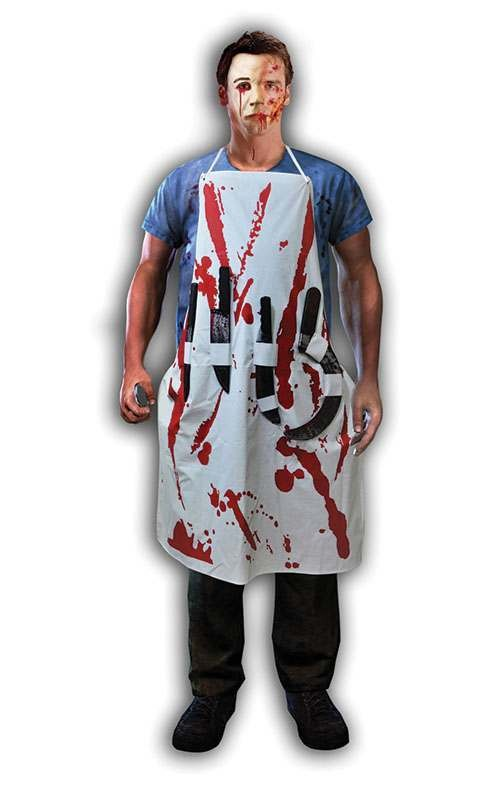 Bleeding Apron With 4 Weapons Accessories