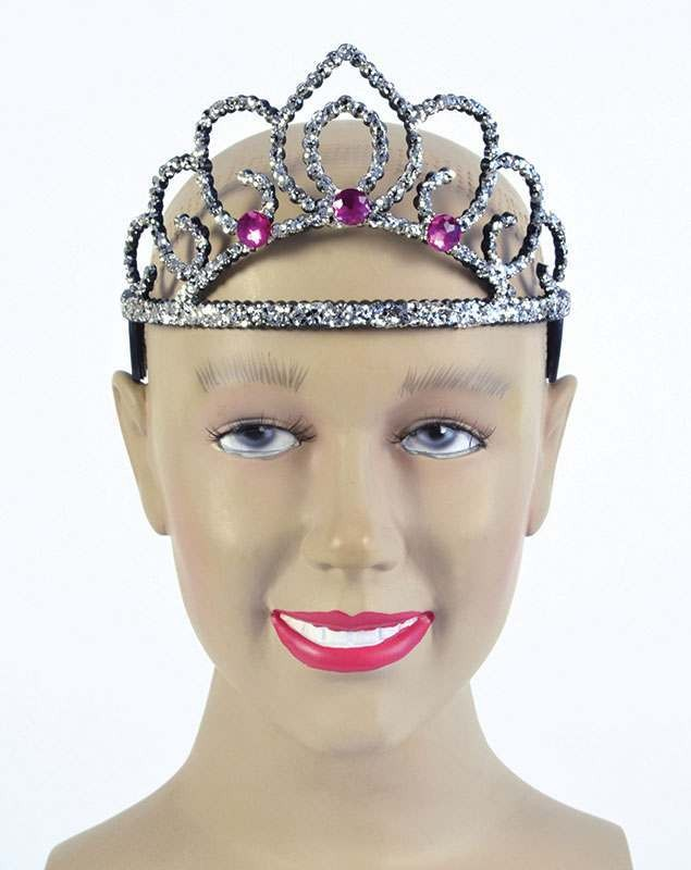 Black Tiara. Plastic Accessories