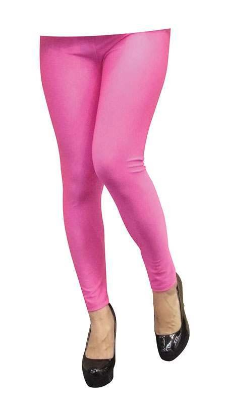 Neon Leggings. Pink Accessories