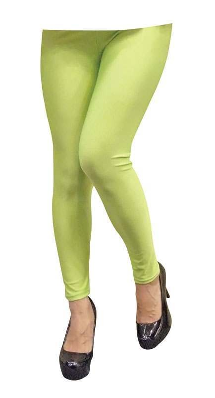 Neon Leggings. Green Accessories
