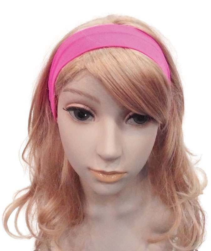 Neon 80'S Hairband. Pink Accessories