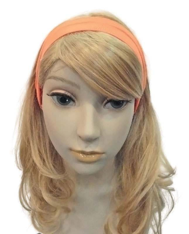 Neon 80'S Hairband. Orange Accessories