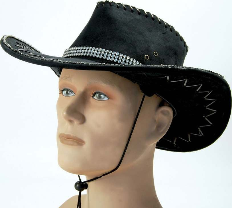 Rhinestone Cowboy Hat (Cowboys/Native Americans Fancy Dress Hats)