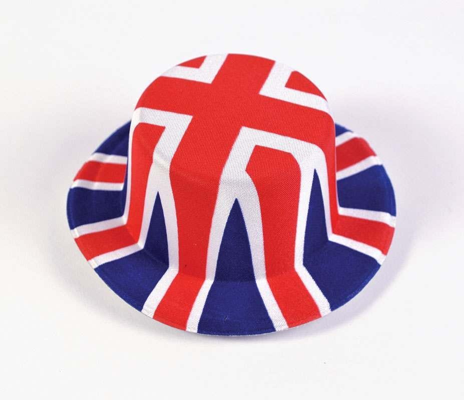 Union Jack Mini Hats (Nylon Felt) Hats