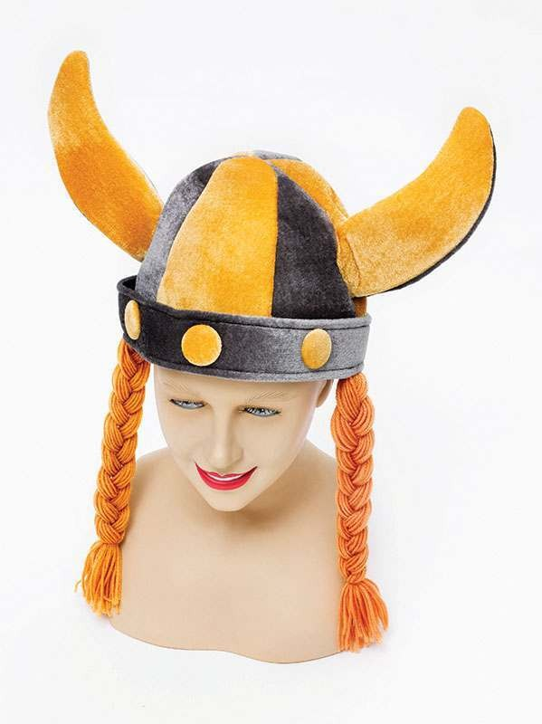 Viking Helmet Soft + Plaits Hats