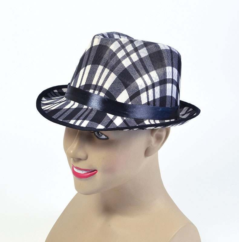 Borsalino Black/White Hats