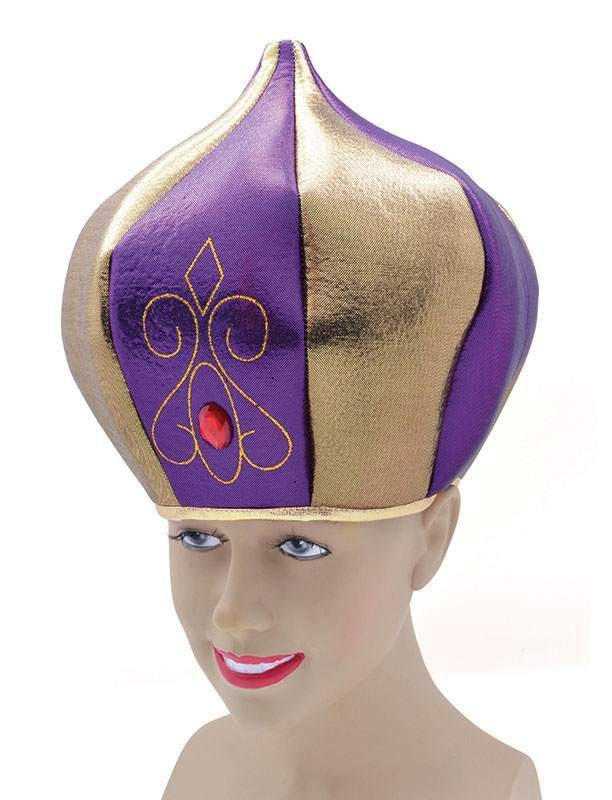 Sultan Hat. Tall Purple Hats