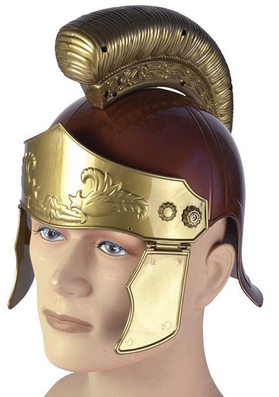 Roman Soldier Helmet. Distressed Hats