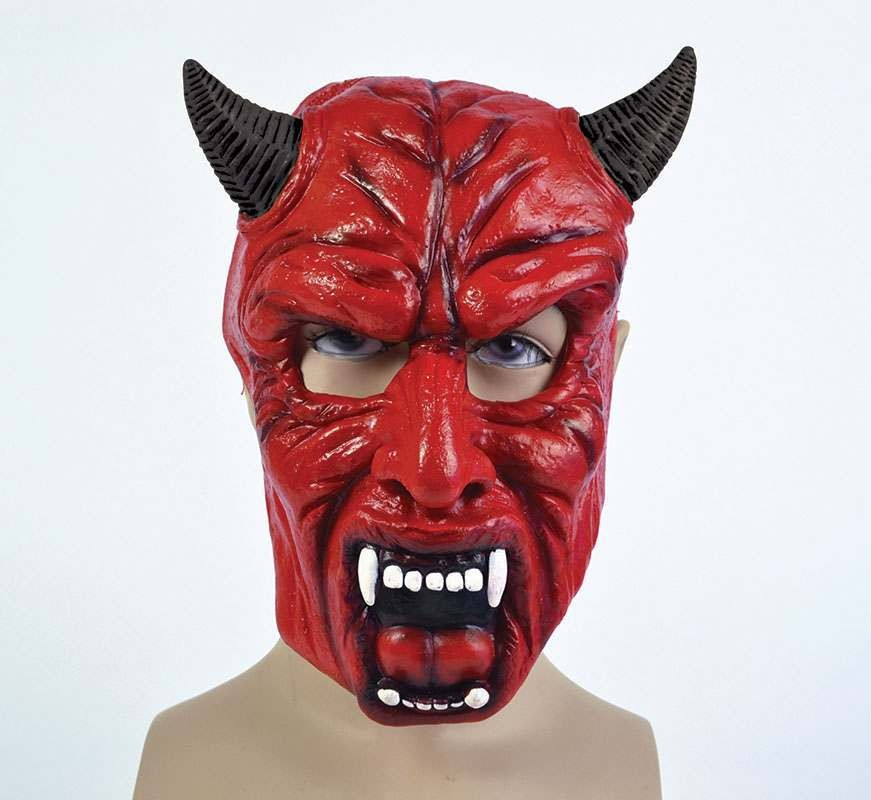 Devil Pvc Full Face Masks