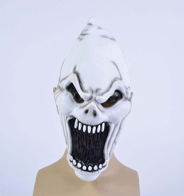 Screaming Demon Pvc Full Face Masks