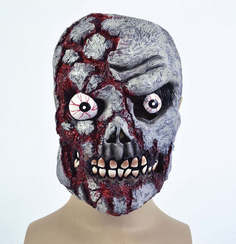 Zombie Skull Pvc Full Face Masks