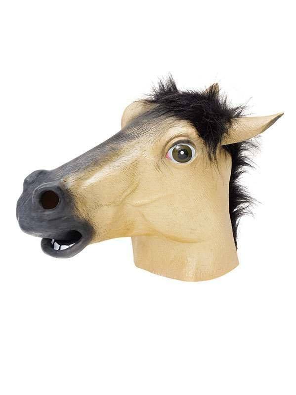 Horse Mask. Gold Masks