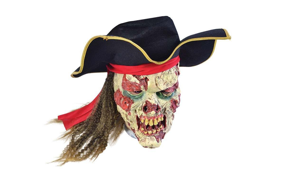 Zombie Pirate Skull Masks