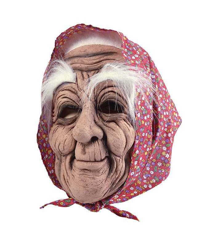 Old Woman + Headscarf Masks