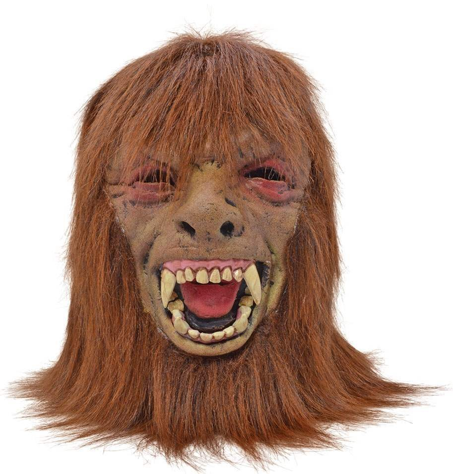 One Size Werewolf Foam Mask Fancy Dress Accessory