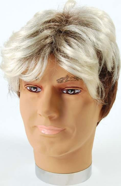 Man Wig. 2 Tone Short (Fancy Dress Wigs)