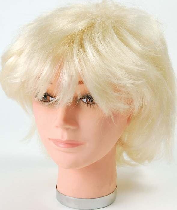 Female Wig. Blonde Short (Fancy Dress Wigs)