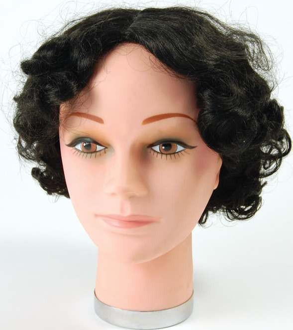 20'S Wig Black (Charleston) (1920S Fancy Dress Wigs)