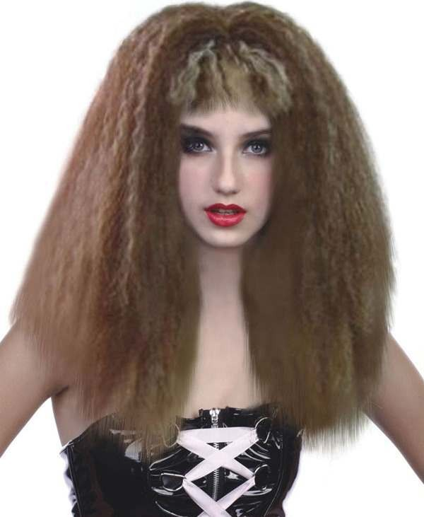 Wild Frizzy Wig (Fancy Dress Wigs)