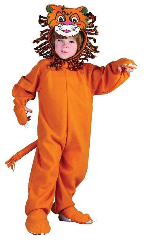 Toddler Lion Animal Outfit - One Size (Brown)