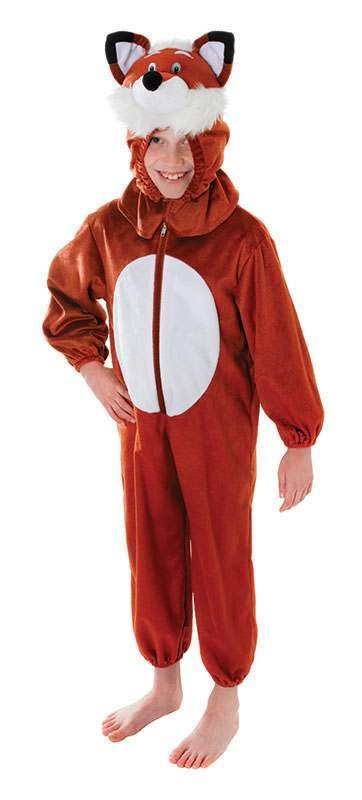 Toddler Fox Animal Outfit - (Brown)
