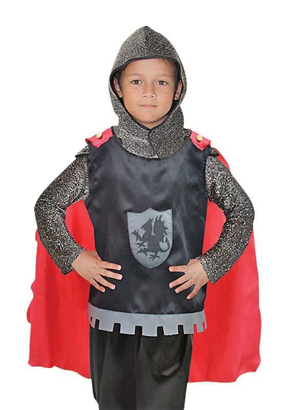 Knight Tabard + Cape Medieval Outfit - One Size