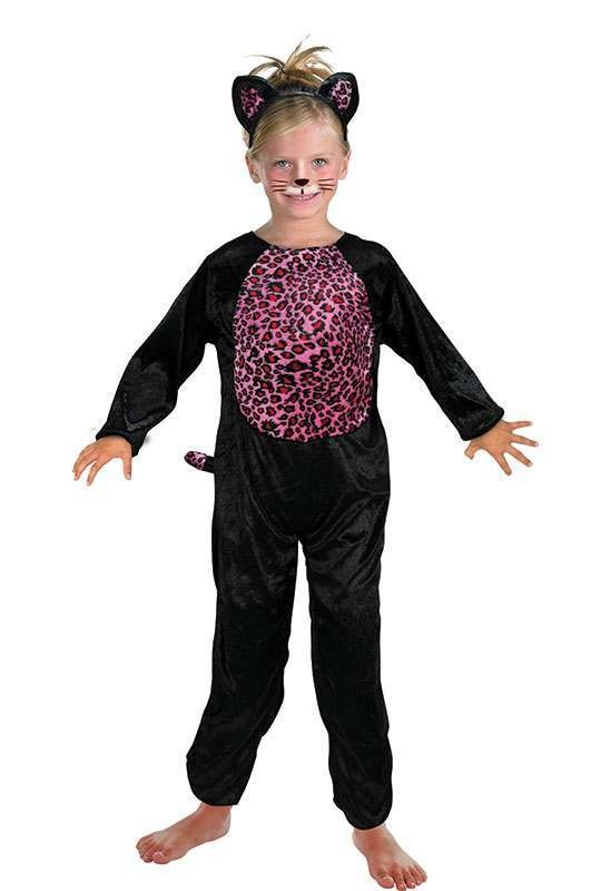 Toddler Pink Cat Animal Outfit - (Pink)