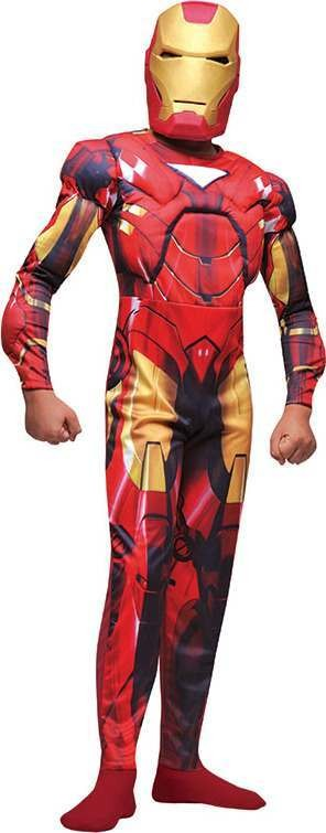 Iron Man Muscle . (Fancy Dress Costume)