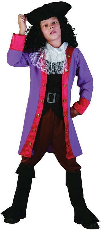 Boys Pirate Hook Pirates Outfit - (Multicolour)