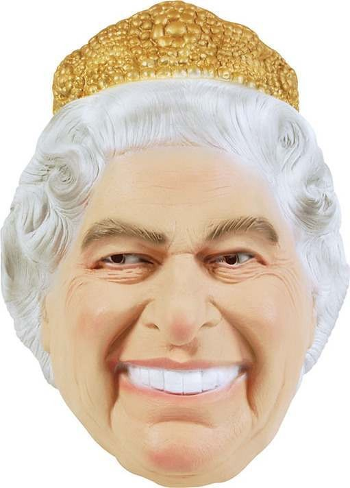 The Queen (Fancy Dress Masks)