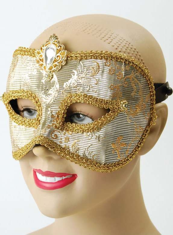 Colour Change Mask (Silver/Gold) (Fancy Dress Eyemasks)