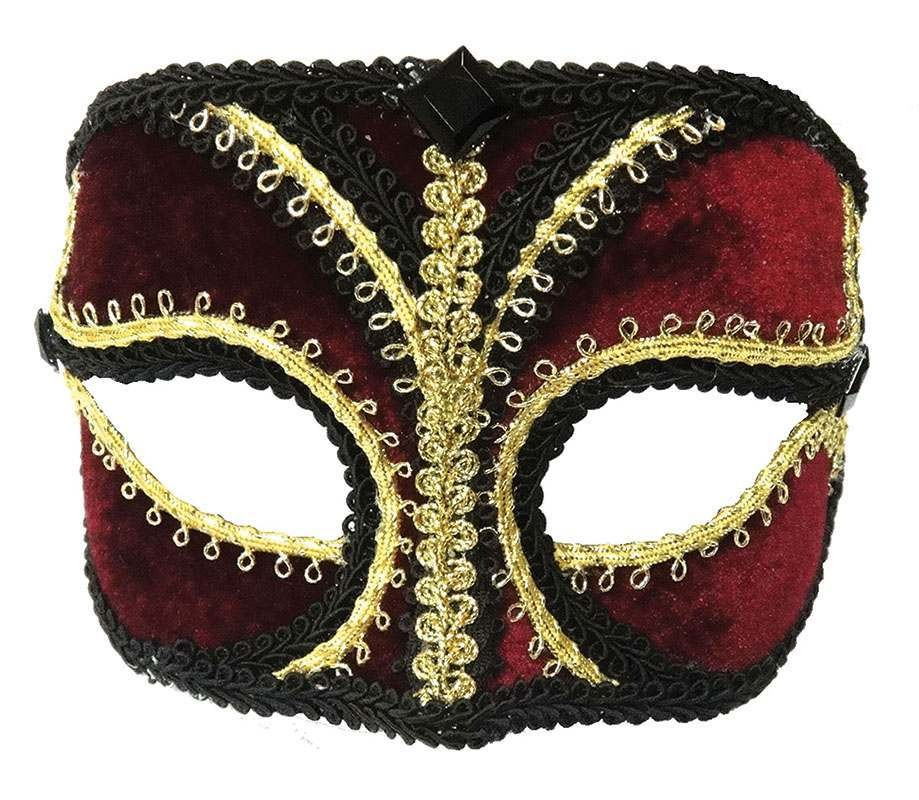 Red/Gold/Black Masks