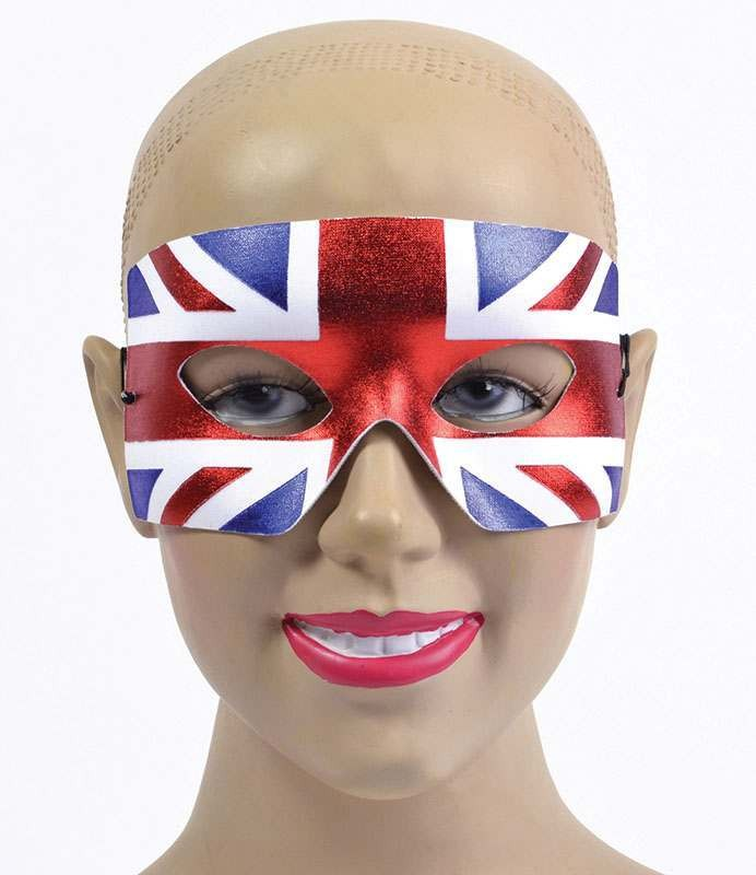 Union Jack Eye Mask. Male Accessories