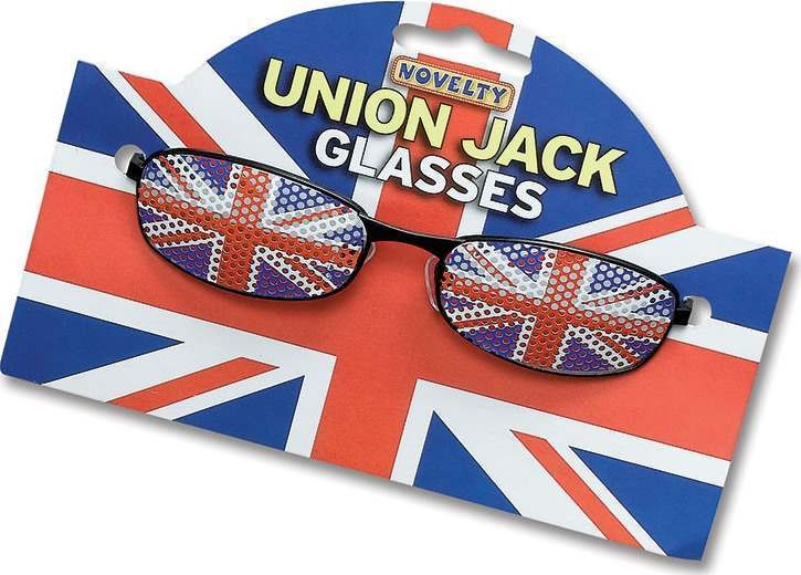 Union Jack Glasses (Cultures Fancy Dress Glasses)