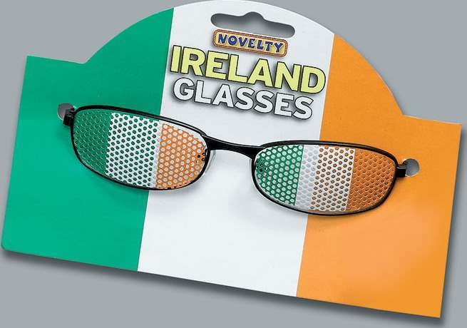Ireland Glasses (Cultures Fancy Dress Glasses)