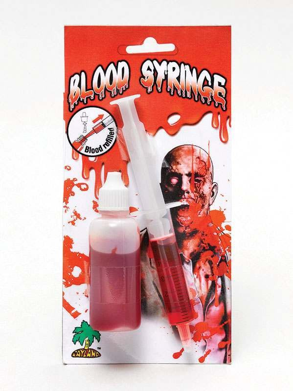 Syringe With Blood Refill Accessories
