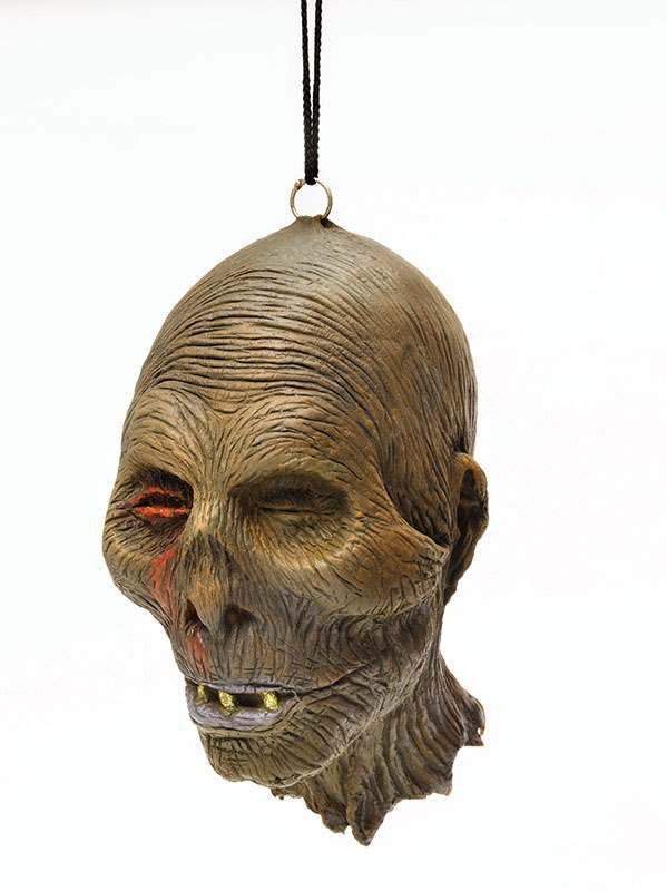 Decomposed Head. Rubber Accessories