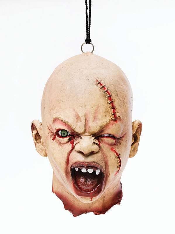 Grotesque Stitch Baby Head Accessories