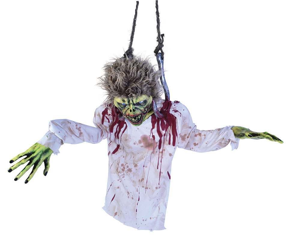 Torso Zombie On Hooks Accessories