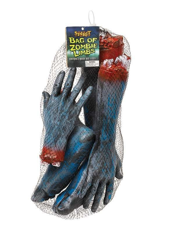 Zombie Body Parts Accessories