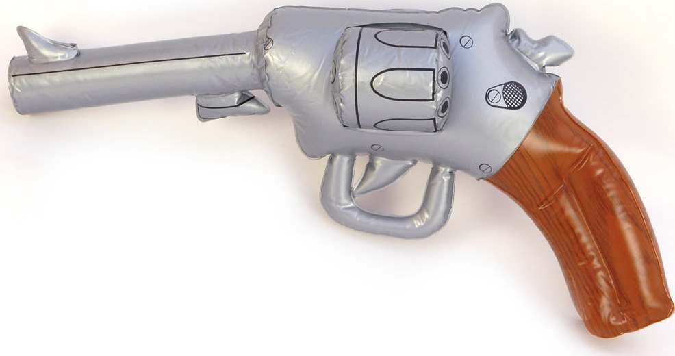 Inflatable Revolver (1920S Fancy Dress Inflatables)