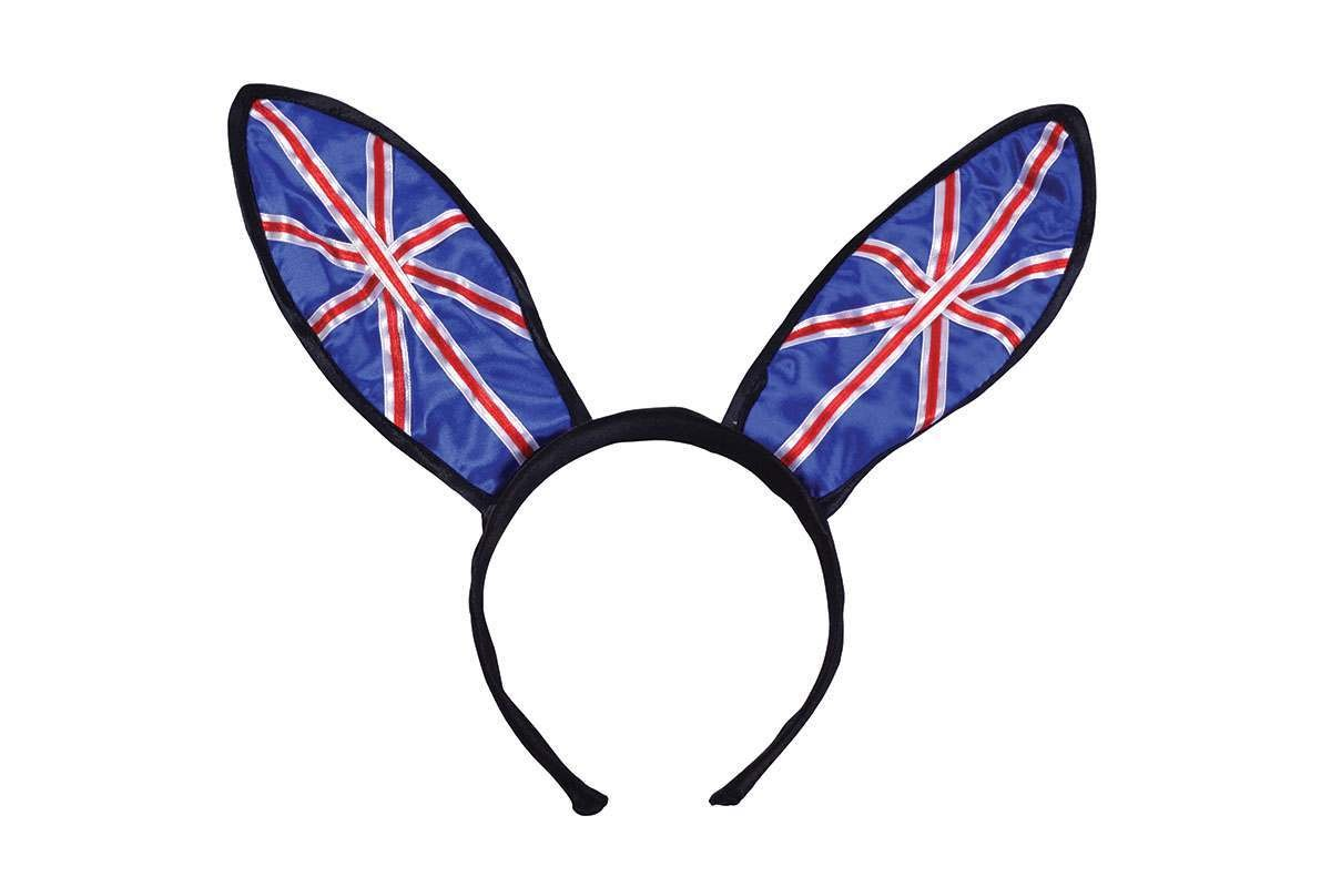 Union Jack Bunny Ears Accessories
