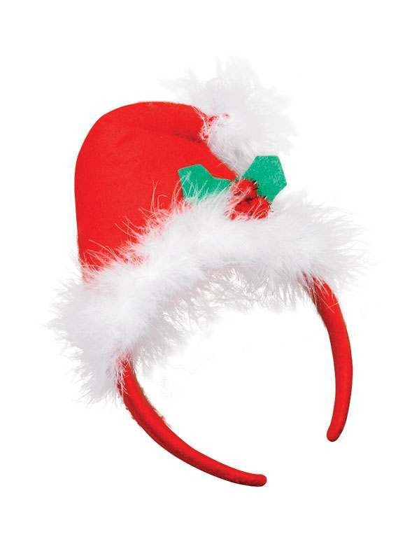Xmas Mini Hat On Band Accessories