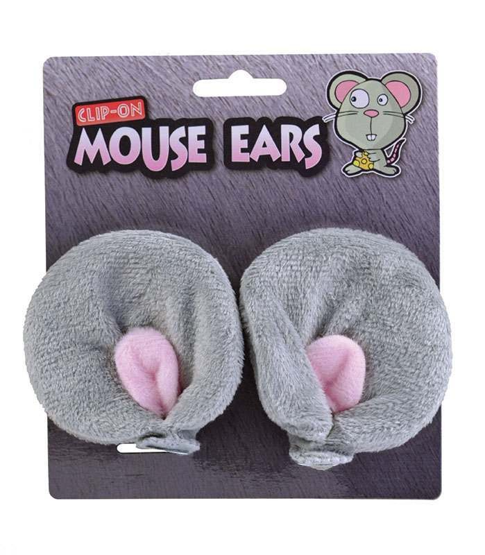 Mouse Ears. Clip On Accessories
