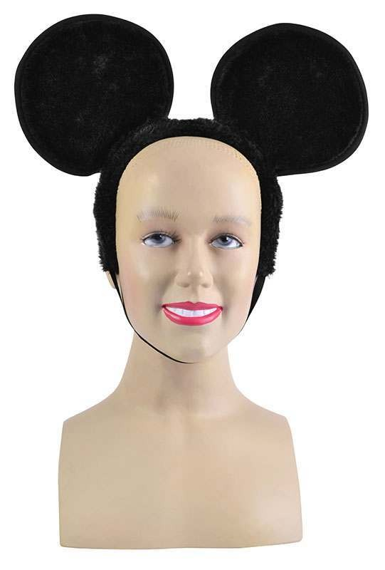 Mouse Ears On Headband. Large Accessories