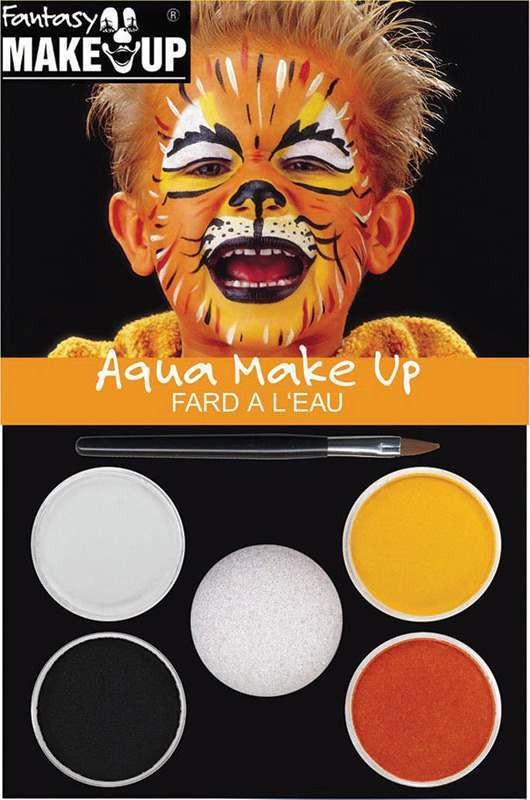 Tiger Aqua Make Up Kid Makeup